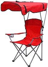 JJYGONG Chaise de Camping Pliante, Chaise de