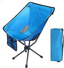 JJYGONG Chaise de Camping Pliante Ultralight,