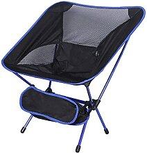 JJYGONG Chaise de Camping Ultralight Pliante