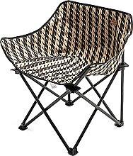 JJYGONG Chaise Pliante de Camping Légère