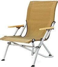 JJYGONG Chaise Pliante En Plein Air Chaise Pliante
