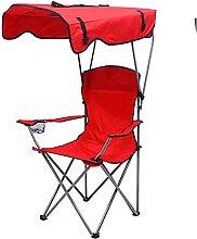 JJYGONG Chaises de Camp Avec Chaise À Baldaquin