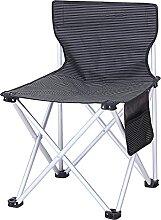 JJYGONG Tabouret de Camping, Petite Chaise Pliante