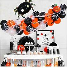 JJYGXYG Kit Guirlande Balloon Halloween, Ballons