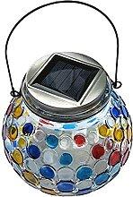 JJZXT Énergie solaire LED boule de cristal