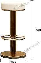 JKUNYU Chaise à tabelle Tabouret High Tabouret