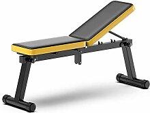 JLDN Multifonction Banc de Musculation Réglable,