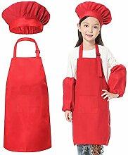 JLySHOP Tablier de Chef pour Enfant – Tablier de