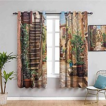 JNWVU Rideaux Occultant Chambre - Peinture à