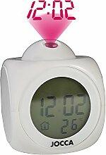 Jocca 1197 Horloge réveil avec Projection de
