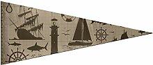 JOCHUAN Drapeau pour décoration Murale Pirate