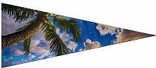 JOCHUAN Pennant Hawaii Sunrise Landscape bannière