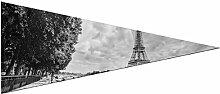 JOCHUAN Triangle Pennant Banner Tour Eiffel Over