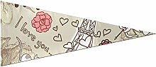 JOCHUAN Yard Flags Love Paris Travel France Card