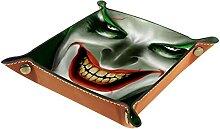 Joker Sourire pour hommes clés, portefeuille,