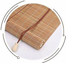 Jolan Stores en Bambou Naturel,Volets Crème
