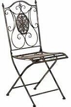 Joli chaise de jardin, de salon exterieur en fer