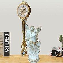 Joli Horloge de table en fer forgé Table Horloge