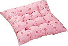 JONJUMP Galette de chaise à pois rose pour salle