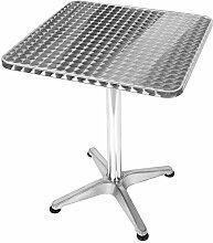 JONJUMP Table de jardin pliable en acier