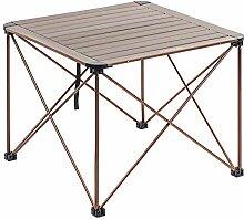 JONJUMP Table de pique-nique pliable en alliage
