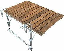 JONJUMP Table de pique-nique pliante en bois pour