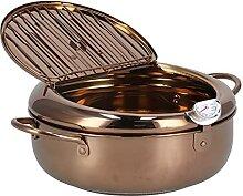 Jopwkuin Marmite, friteuse en Acier Inoxydable
