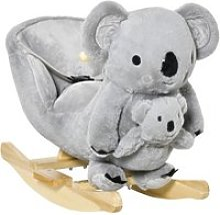 Jouet à bascule koala avec marionnette - effet