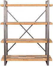 Joy - Etagère design en métal et bois