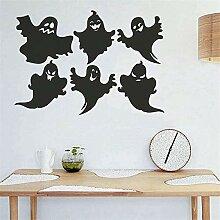 Joyeux Halloween PVC fond autocollant mural