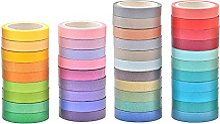 joyMerit 40x -en-ciel Washi Papier Collant
