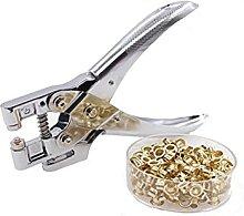 JQDMBH Perforatrice Poinçon à Main en métal