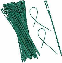 Jroyseter 50 Pcs Poisson Réutilisable Os Vert en