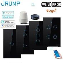 JRUMP – interrupteur mural intelligent, wi-fi,