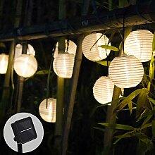 JSNRY Solar Light LED Lanterne Guirlande déco de