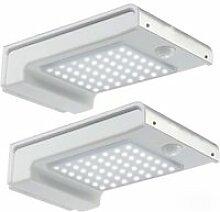 Juce® 2 Pack Lampe Solaire Extérieur 72 LED