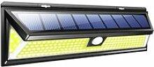 Juce® Lampe Solaire Extérieur 180 LED Etanche