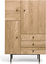 Jugend - Buffet haut design bois et métal