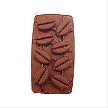 JUHON Moule en Silicone Chocolat Forme De Grain De