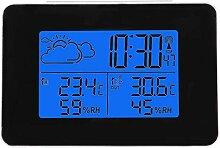 Julykai Horloge sans Fil, Horloge LCD sans Fil,