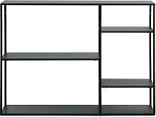 June - Étagère en métal 5 casiers