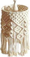 Junean Abat-jour tricoté à la main - Blanc -