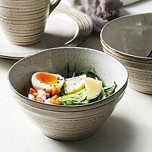 Junyyang 6 pouces en céramique bol de nouilles