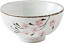 Junyyang Bol en porcelaine, en céramique motif