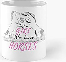 Just A Girl Who Loves Horses - Riding Horse Gift