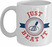 Just Beat It Funny Kitchen Puns Tasse-cadeau de