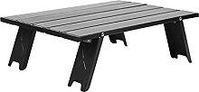 JUSTHUI Alliage d'aluminium mini de table