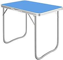 JUSTHUI Table de campe portable ajustable en