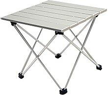 JUSTHUI Table de camping en plein air portable