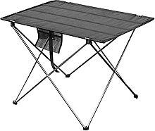 JUSTHUI Table pliable portable Camping extérieur
